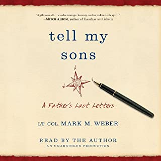 Tell My Sons audiobook cover art