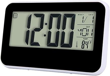 Amazon.fr : digital - Pendulettes de bureau / Pendules et horloges ...