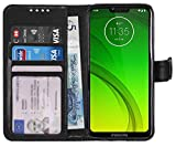 Gadget Giant Wallet Case for Motorola Moto G7 Power PU