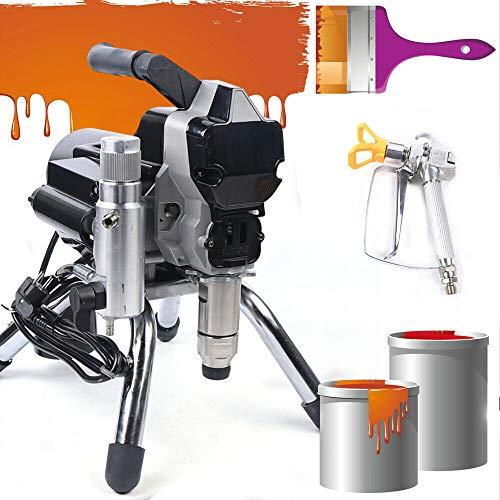 2.2KW 2.5L/min Farbsprühgerät Airless Farbspritzgerät Lackiergerät Hochdruck Sprayer Lackierpistole Sprühmaschine 220V