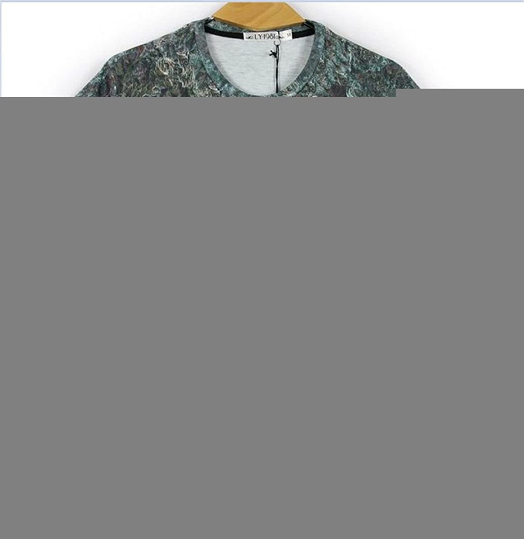 Women Men Unisex 3D Print Galaxy Animal hipster Tee Shirt(weed)