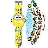 Fashion Kids 3D Projection Watches, Children Electronic Cartoon Watch Girls Boys Children's Wristwatches. Watch for Kids