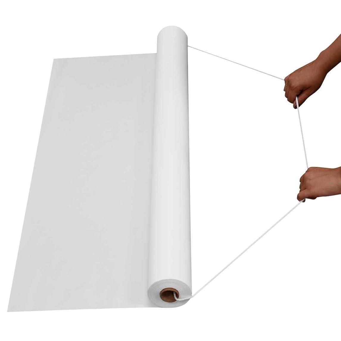 Northwest Enterprises Plastic Aisle Runner, 36-Inch by 50-Feet, White