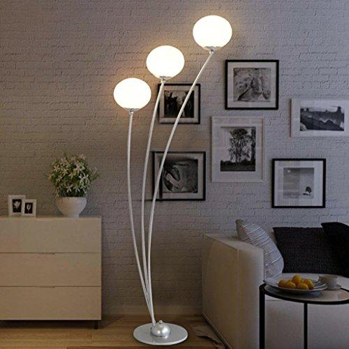 Staande lamp staande lamp moderne woonkamer slaapkamer LED stoel sofa verticale standaard E27 LED