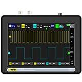 Osciloscopio Digital, Tableta con Pantalla Táctil Osciloscopio 7'2 Canales 100 MHz...