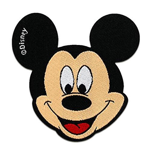 Disney © Mickey Mouse Comic Kinder - Aufnäher, Bügelbild, Aufbügler, Applikationen, Patches, Flicken, zum aufbügeln, Größe: 6,5 x 6,5 cm