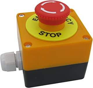 normally closed stop button