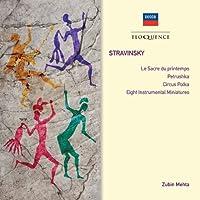 Stravinsky: Petrushka / Le Sacre Du Printemps by MEHTA / LOS ANGELES PHIL ORCH (2013-03-12)