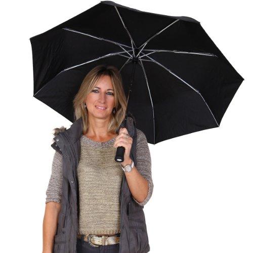 NEOSTAR LED Taschenlampe Außen Regen Automatische Öffnung Regenschirm
