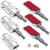 Drucktüröffner Magnetschnäpper ZUONAI 6 Stück Push to Open Magnet Türöffner Magentisch Druckschnapper Schubladenöffner Magnet Push to Open Tür Drucköffner Schublade