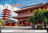 Japan - Land der aufgehenden Sonne (Tischkalender 2021 DIN A5 quer)