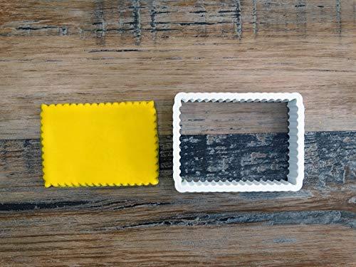 ELACE - Emporte-pièce Biscuit Petit Beurre L.U Patisserie, sablé, Biscuit, pâte à Sucre, pâte à Modeler-Décoration gâteau-Fait Maison-FR 3D