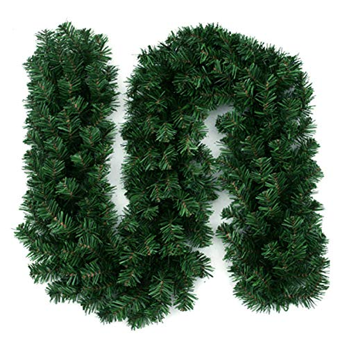 LONDADI Christmas Decorations Sale, 2.7m Artificial Vine Rattan Christmas Decoration Hanging Garland Decoration Home Ornament Christmas Ornaments Xmas Decor Party Decor Xmas Gifts Stocking Fillers