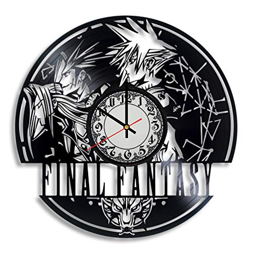 Lepri4ok Final Fantasy Wanduhr, handgefertigt, Chocobo, Final Fantasy 5, ffxv ignis Cosplay, Final Fantasy 7 Art, Final Fantasy xv Cosplay 7