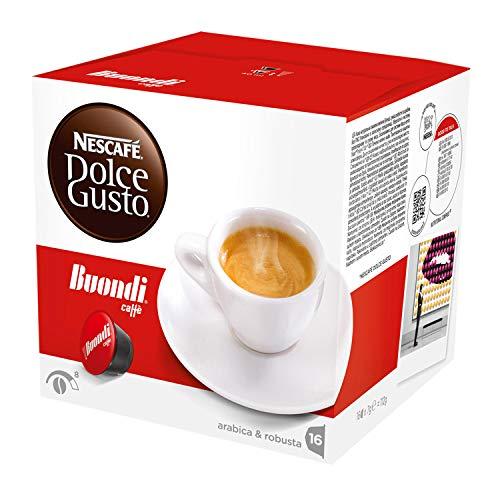Nescafé Dolce Gusto Espresso Buondi - 8 Boxes - 8 x 16 = 128 Capsules Pods by Nescafé Dolce Gusto