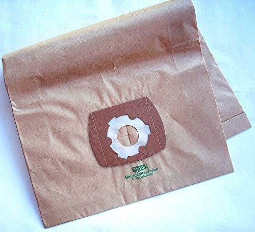 staubshop24-5 Staubfilterbeutel dustbags paper Staubbeutel Staubsaugerbeutel Zentralstaubsauger geeignet ALLAWAY CV-1750 DELUXE