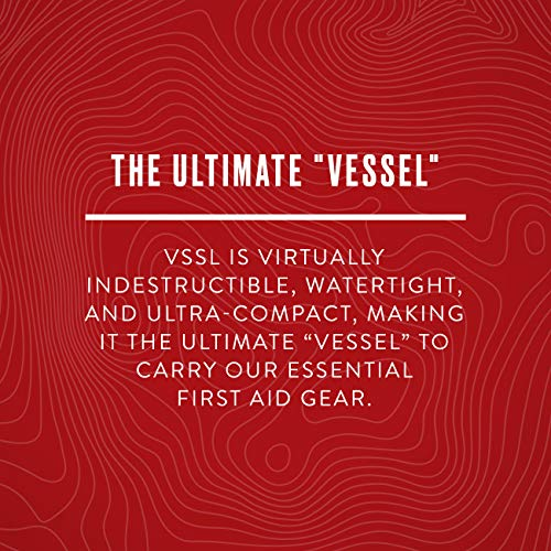 Product Image 3: VSSL First Aid – Compact Adventure First Aid Kit with 46 First Aid Essentials and 4-Mode LED Light