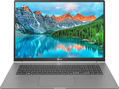 "LG Gram 17"" WQXGA (2560 x 1600) IPS Ultra-Lightweight Laptop, Intel Quad-Core i7-8565U up to 4.6GHz, 16GB DDR4, 256GB SSD, Backlit Keyboard, Fingerprint ID, Thunderbolt, Bluetooth, Webcam, Windows 10"