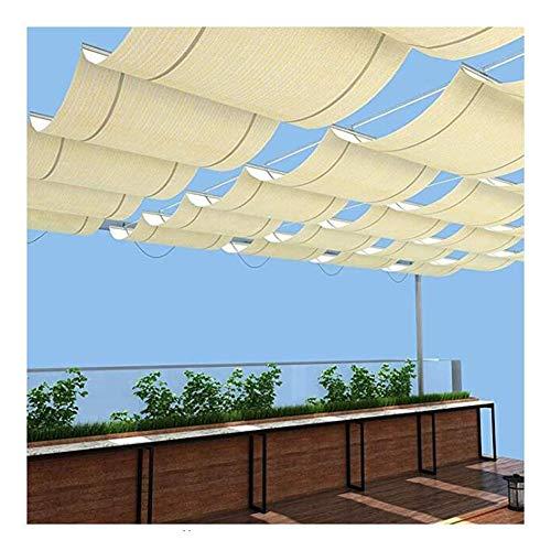 LH-RUG Pérgola retráctil, toldo, Sombra de Vela, Porche, pérgola, Gazebo, Patio, Entrada, balcón, 48 tamaños, tamaño Personalizado