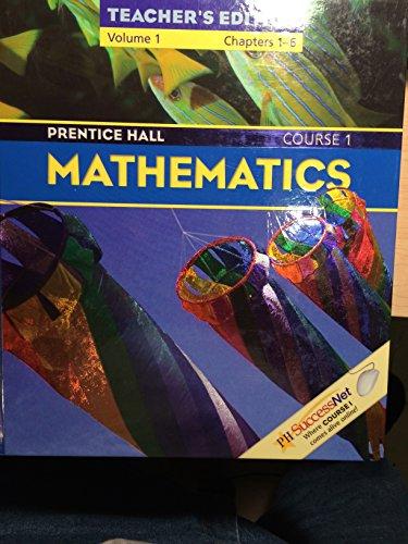Prentice Hall Mathematics Course 1 Vol. 2 Chapters 7-12 Teachers Edition