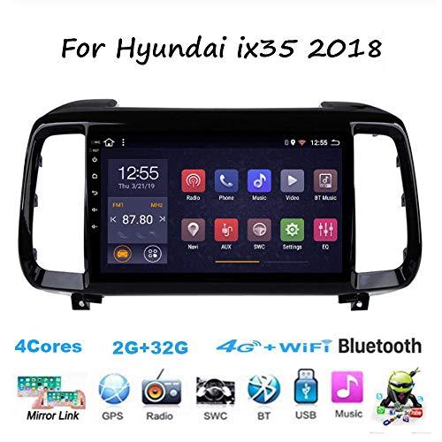bester Test von autoaid erfahrung TypeBuilt für Hyundai ix35 2018 Auto Video Din 9 Zoll In Dash Head Unit HD Touchscreen WiFi Hotspot…