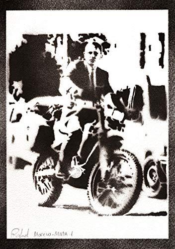 Poster James Bond 007 Daniel Craig Handmade Graffiti Street Art - Artwork