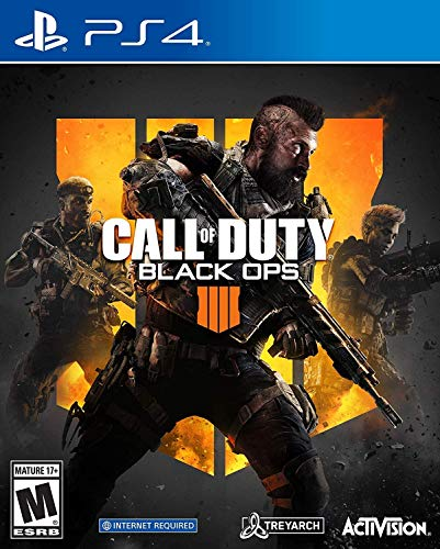 Call of Duty Black Ops 4 - PS4 - Asian Cover | Region Free