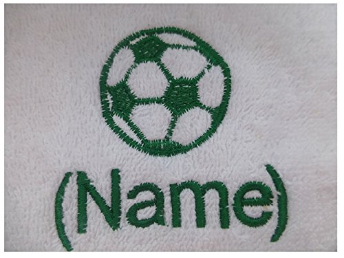 EFY Grashopper Design, Bestickt auf eine Auswahl von Handtüchern mit personalisiertem Namen, Handtuch