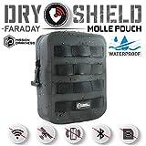 Mission Darkness Dry Shield MOLLE Faraday Pouch (2nd Gen) // Waterproof &...