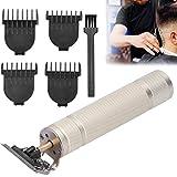Cortadora de cabello recargable, diseñada para proporcionar suavemente y maximizar la comodidad del usuario Cortadora de cabello, para peluquería para hombres Cortapelos(dorado)