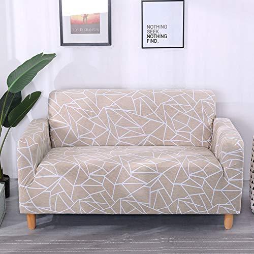 MKQB Funda de sofá elástica elástica para decoración del hogar, Funda de sofá Envuelta herméticamente Antideslizante, Funda de sofá de protección para Mascotas n. ° 2 M (145-185cm