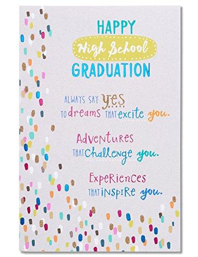 American Greetings High School Graduation Card (Say Yes)