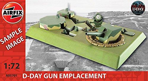 Airfix A05701 - Modellbausatz D-Day Gun Emplacement