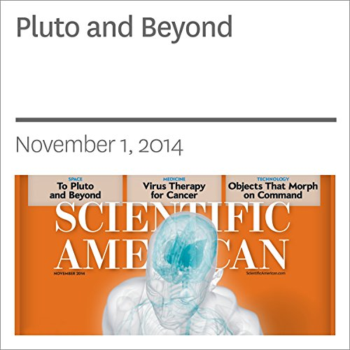 Pluto and Beyond audiobook cover art