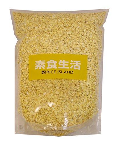 ライスアイランド 未選別オーツ麦フレーク 1.5kg×4袋