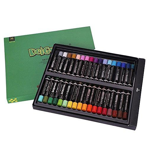 12/36 colores pastel al óleo, juego de pinturas de colores pastel para niños, artistas aficionados