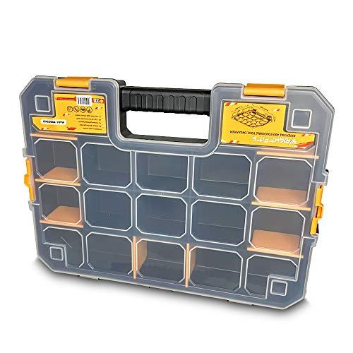 WrightFits WW5022483 - Organizador de cajas de herramientas (44 x 32,7 x 7,5 cm)