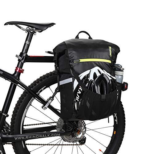 UBaymax 25L Alforjas Maletero para Portaequipajes de Bicicle