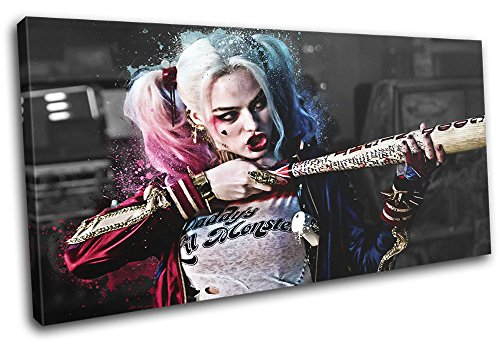 51yYVAfDFkL Harley Quinn Canvas Wall Art
