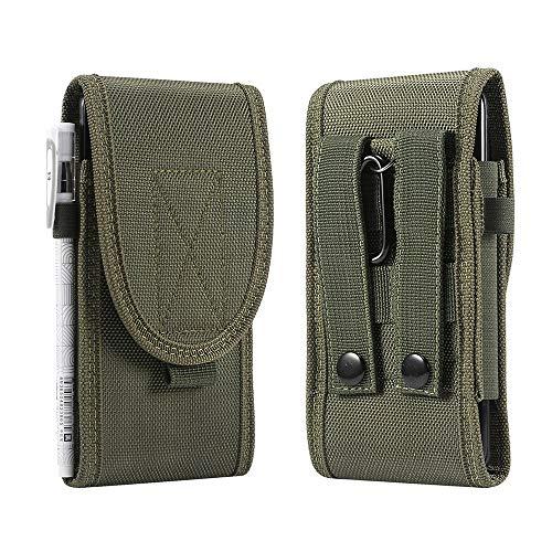 SZCINSEN Funda universal para cinturón de teléfono para iPhone 11 Pro/X/XR/XS, paquete de cintura para exteriores, para Galaxy S20 S10e S10 S8 S7 Edge A40 A41 LG Sony y más