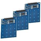 AZDelivery 3 x TTP229 modulo capacitivo de 16 canales con sensor táctil digital para Arduino y Raspberry Pi con eBook incluido