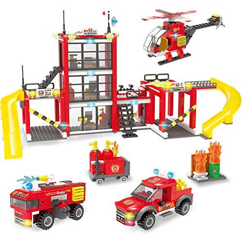 City Police, City Fire Station Building Set, City Fire...