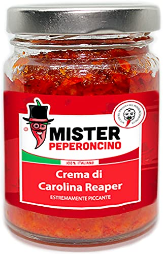 Carolina Reaper - Crema 40 gr - Il peperoncino più piccante al mondo