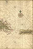 17th Century Map of Hispaniola and Puerto Rico - A Poetose Notebook / Journal / Diary (50 pages/25 sheets) (Poetose Notebooks)