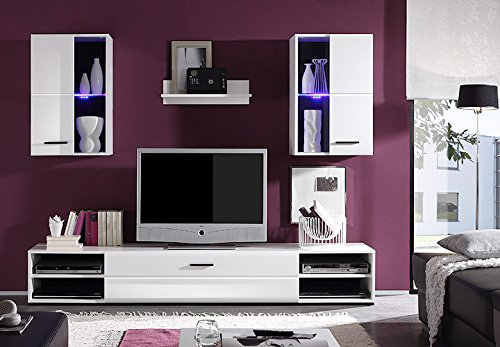 Wohnwand -  Moderne Wohnzimmer Anbauwand auf schoene-moebel-kaufen.de ansehen