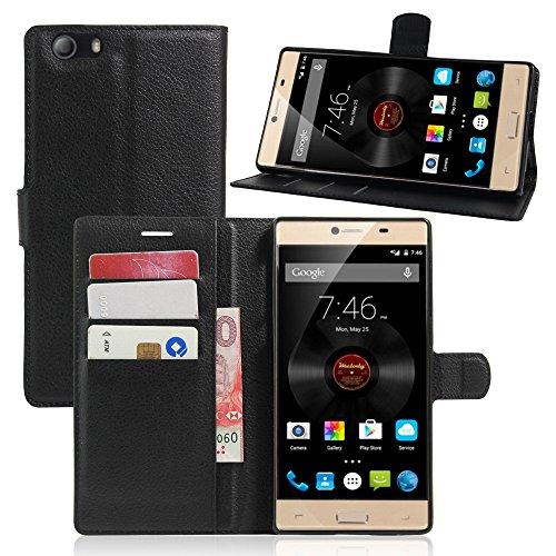 Litao-Case CN Hülle für Elephone M2 hülle Flip Leder + TPU Silikon Fixierh Schutzhülle Case 9