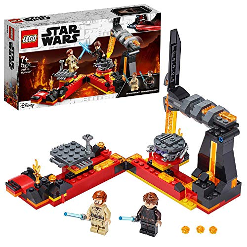 LEGOStarWarsDuellosuMustafar,PlaysetLaVendettadeiSithconMinifiguradiAnakinSkywalkereObi-WanKenobi,75269