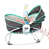 Bigzzia Baby Jumpers and Bouncers Baby Chair for Infants,Portable Baby Swing Bassinet for Newborns,5 in 1 Baby Cradle Travel Bassinets for Babies,Baby Bed Toddler Swing Rocking Chair for Nursery.Green