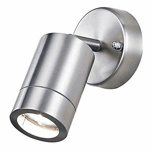 Roestvrij staal aluminium buiten IP44 verstelbare wandlamp