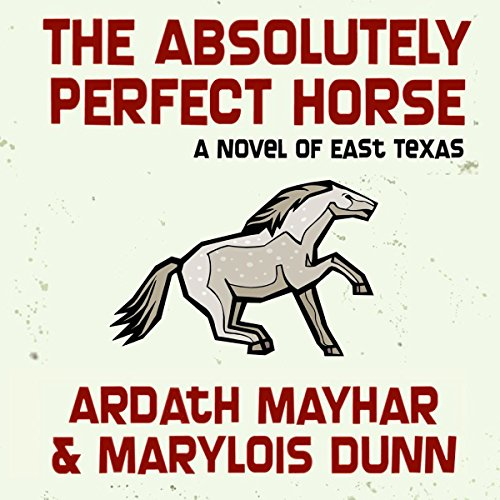 The Absolutely Perfect Horse audiobook cover art